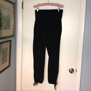 Lucy Brand Harem Pants w/ Pockets tie at Ankles S